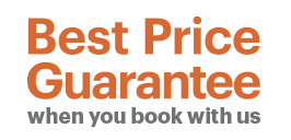 Best Price Guarantee when you book with us