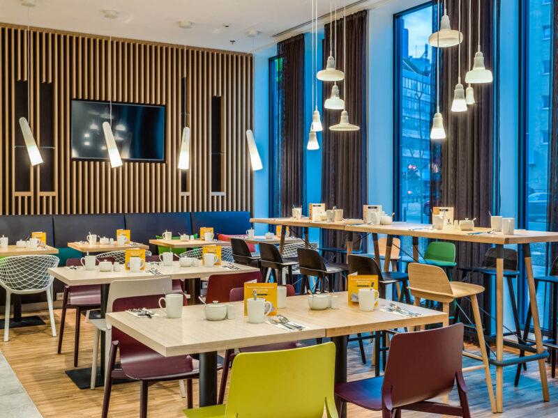 Restauracje hotelowe Holiday Inn Warsaw
